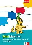 MiniMax 1-4: Kopiervorlagen zur Sprachförderung mit CD-ROM Klasse 1-4 (MiniMax. Allgemeine Ausgabe ab 2016)