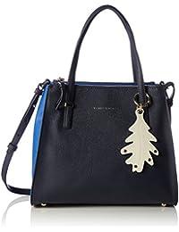 Tommy Hilfiger - Modern Satchel Cb, Bolsos maletín Mujer, Blau (Tommy Navy), 14x25x30 cm (B x H T)