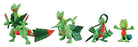 Takaratomy Pokemon XY Monster Collection Mega Evolution Sinker 5,1cm Mega Jungko Action Figure Lot