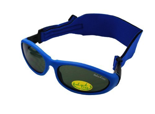 Baby Wrap Sunglasses (Blue)