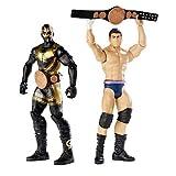 WWE – Battle Pack – 2 Figurines Articulées 15 cm ...