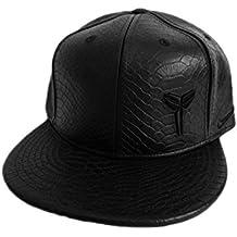 Nike Unisex Kobe Ext piel Flat Bill gorra ajustable cap-black-adjustable