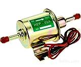 YIYIBY 12V Volt Benzinpumpe Elektrische 1.8A Baumaschine Kraftstoffpumpe Diesel Druck ca. 3-6 psi