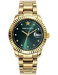 Golden Chic–Reloj de pulsera para mujer con brillantes