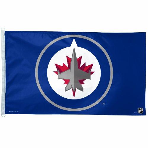 NHL Flagge, 3von Geschenkpapierrolle 150cm, Winnipeg Jets