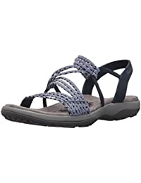 4a018fd30c4c8 Amazon.es  Skechers - Sandalias de vestir   Zapatos para mujer ...