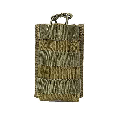 Wenquan,Zubehörtasche Batterieanhänger(color:Militärfarbe,size:15 * 10CM) -