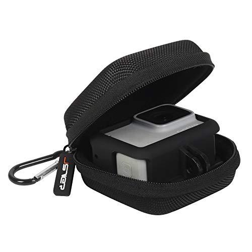 JSVER Tasche für GoPro Hero 8/7/6 Tragetasche Schutztasche für DJI Osmo Action/Gopro Hero 7/(2018), Hero 4/3 und GoPro-Zubehör Batteries Schwarz