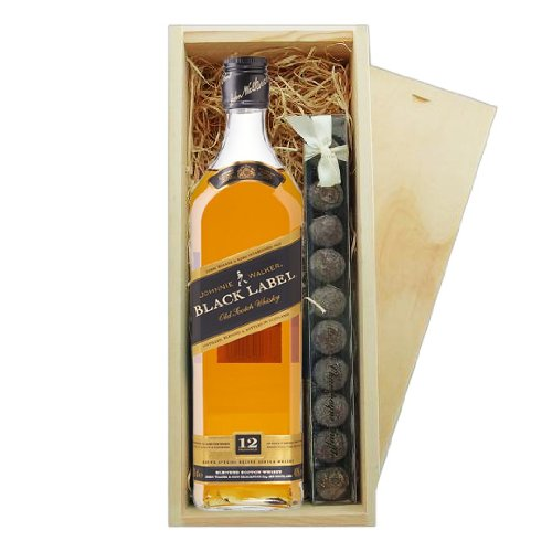 johnnie-walker-black-label-truffes-boite-en-bois