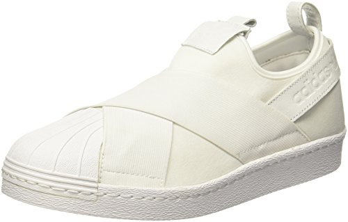 Adidas Superstar Slipon, Sneaker Un Collo Basso Unisexe - Adulto Bianco (chaussures Blanc / Chaussures Blanc / Chaussures Blanc 0)