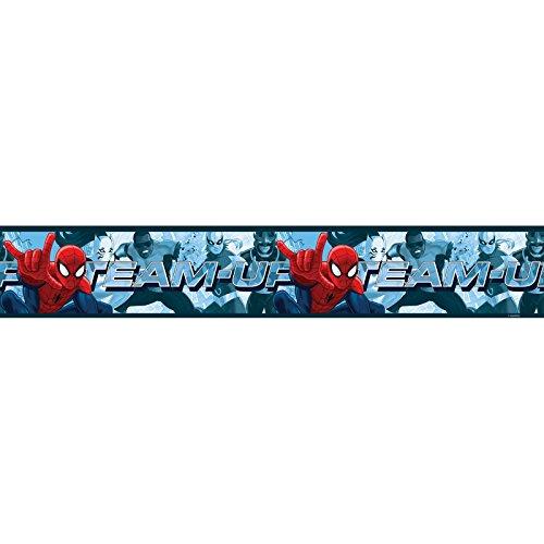 Spiderman-Team selbst selbstklebende Tapete Grenze 5m