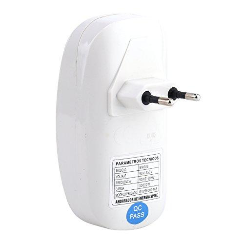 90-250V 3000W Energie sparende weiße Kasten Box Power Retter Saver für Halshalt Energieeinsparung mit EU Stecker