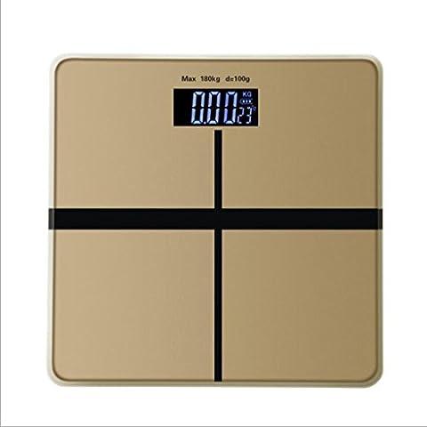 Jingzou Wiegen Waagen elektronischen Haushalt menschlichen Körper Gewicht elektronischen Waagen intelligente Gesundheit Skalen28*28CM