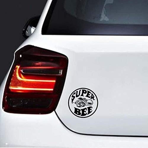 Super Bee Lustiges Design Auto Fenster Stoßstange Vinyl Aufkleber JDM Sticker 15,2 cm x 15,2 cm - Schwarz -