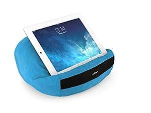 padRelax casual Hellblau iPad Ständer bis 10.5 Zoll, Made in Germany, für Bett, Sofa, Tisch und jedes Apple iPad, Samsung Galaxy Tab, eReader, Buch,..