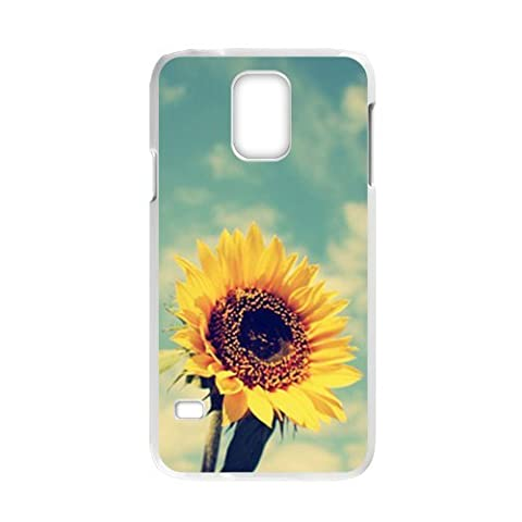 Generic Cell Phone Case For Samsung Galaxy S5 case Blooming Sunflower Design Mobile Phone Cases Protective shell