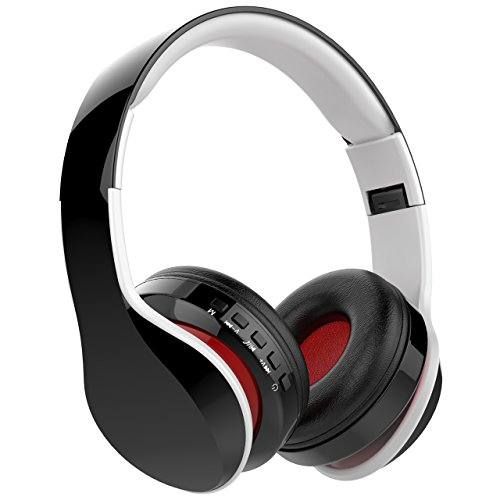 Casque Bluetooth Sans Fil Fonction 4-en-1, NickSea Casque Pliable,...