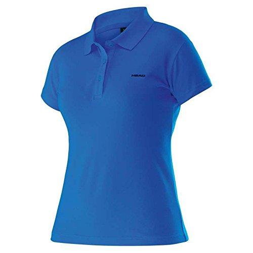 Michaelax-Fashion-Trade - T-shirt de sport - Uni - Manches Courtes - Femme Blue/Navy