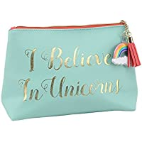 'Cloud Nine' I believe in Unicorns Turquoise Make Up Wash Bag