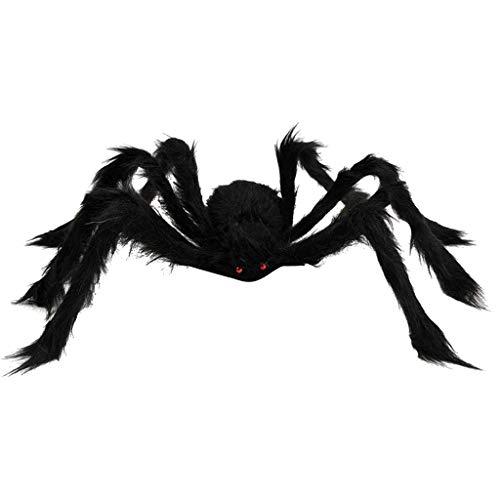 Glänzende Szene Das Party Kostüm - bobo4818 Realistische Spinne Spielfiguren Halloween Streich Scherz Party Dekoration Kunststoff Spielfigur,Vogelspinne Haarige Spinne