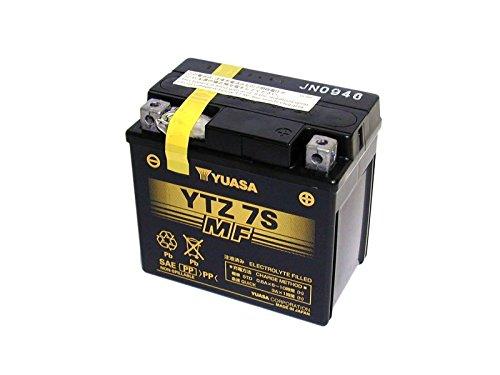 GEL-YUASA-Batterie HONDA 1000ccm CB 1000 R Baujahr 2007-2014 (YTZ7S)
