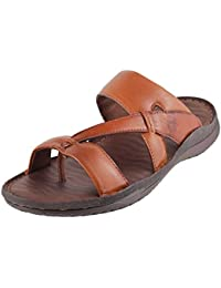 METRO Men BLACK LEATHER Sandals ( 16-9097 ) ( 16-9097-11-BLACK )