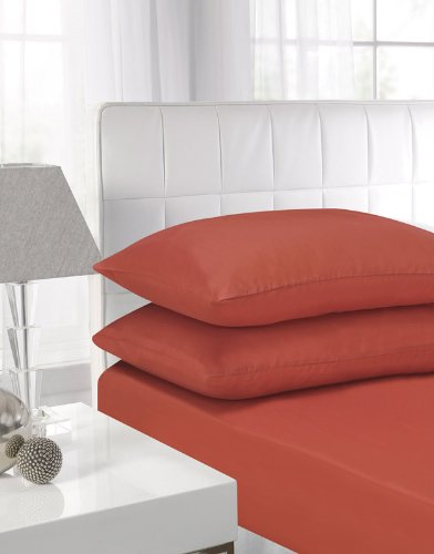 affinity-soft-touch-fitted-sheet-terracotta-single-bed-by-textiles-direct