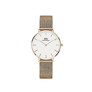 Daniel Wellington Unisex Erwachsene Digital Quarz Uhr mit Edelstahl Armband DW00100163