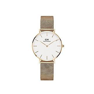 Daniel Wellington Reloj Digital para Mujer de Cuarzo con Correa en Acero Inoxidable DW00100163
