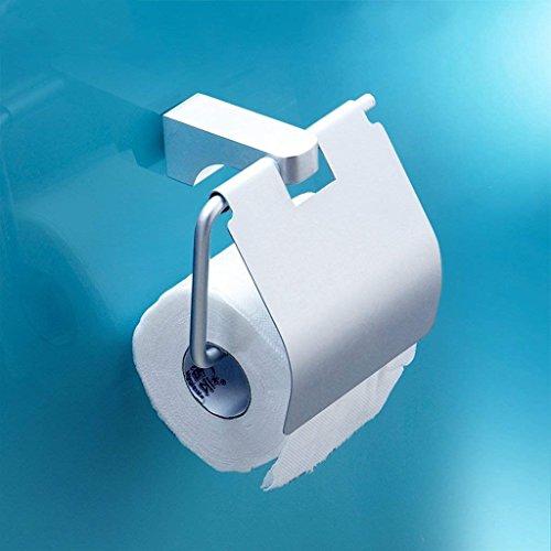 YNG Toilettenpapier-Gestell-Raum-Aluminiumrollen-Papier-Halter-Wand - Angebrachtes Toilettenpapier-Halter-Toiletten-Bequemes Rollenpapier-hängendes Papierhandtuch-Gestell