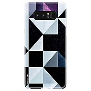 iSweven Samsung Galaxy Note 8 / samsung note 8 / case / cover, printed, 360 protection, smooth, ultra slim, durable,light weight matte finish back cover (3079 Art)