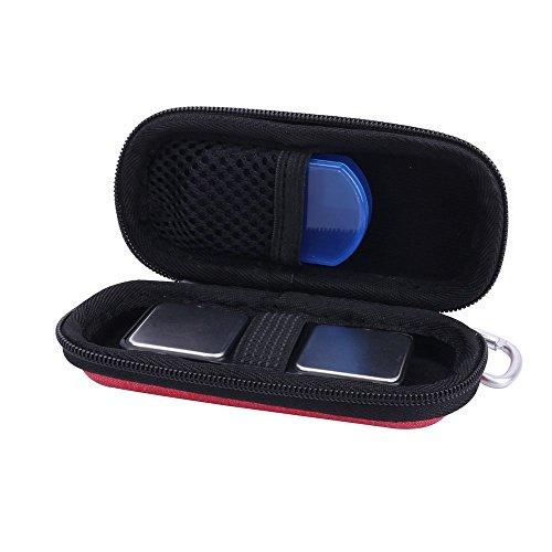 für AliveCor Kardia Mobile AliveCor EKG/ECG Moniter Hart Tasche Hülle von Aenllosi (Rot)
