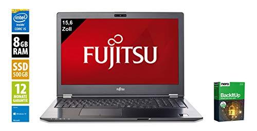 Fujitsu LifeBook U757   Notebook   Laptop   15,6 Zoll (1920x1080)   Intel Core i5-7500U @ 2,7 GHz   8GB DDR4 RAM   500GB SSD   Webcam   Windows 10 Pro (Zertifiziert und Generalüberholt) Lifebook Laptop-notebooks