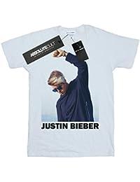 Justin Bieber Mädchen Shaded Pose T-Shirt