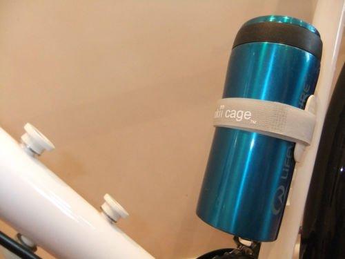 monkii cage Flaschenhalterung fürs Fahrrad, Schwarz / Weiß / Erbsengrün Weiß weiß