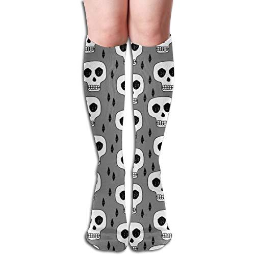 au Oktober Halloween gruselig beängstigend gruselig erschrocken bequeme Erwachsenen kniehohe Socken Turnhalle Outdoor Socken 50cm 19.7 Zoll ()