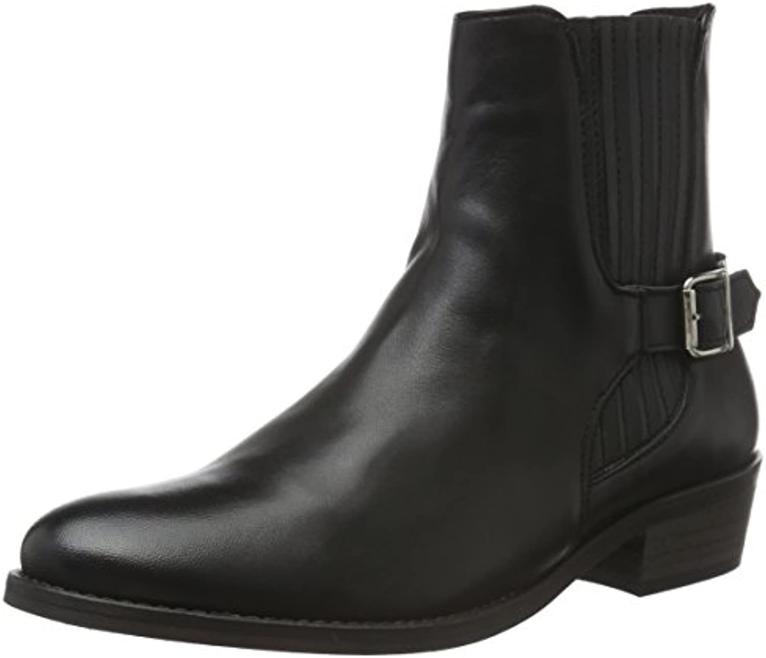VERO MODA Damen Vmjeanet Leather Boot Biker