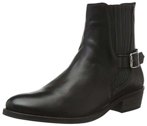 Vero Moda Vmjeanet Leather Boot, Bottes Classiques femme