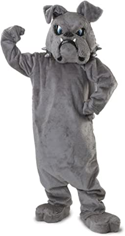 Puppet Costume Homme - Bulldog Mascot Costume One Size Fits
