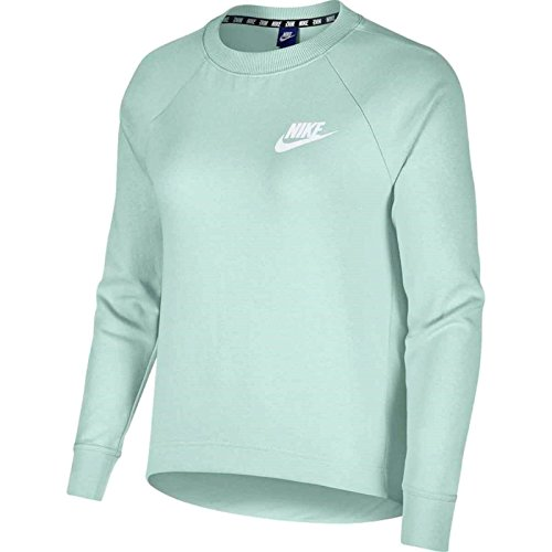 Nike Damen Sportswear Advance 15 Crew Sweatshirt, Igloo/(White), M