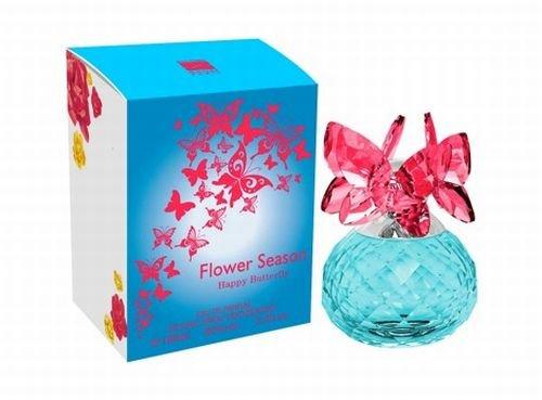 Jean Pierre Sand Eau de Parfum Flower Season Butterfly Happy 100 ml