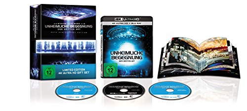 Unheimliche Begegnung der Dritten Art - Ultimated Limited Gift Set (Amazon exklusiv) - Ultra HD Blu-ray [4k + Blu-ray Disc + Bonus Disc]