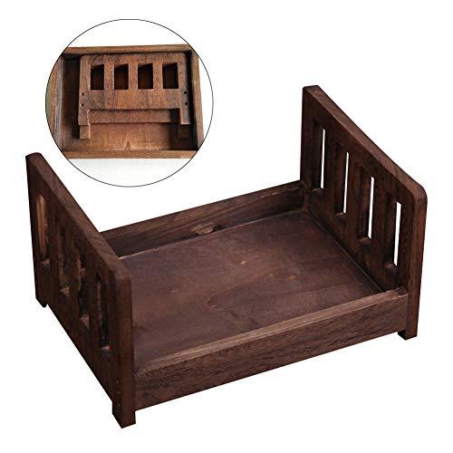 Cama madera Sesión fotográfica Fondo desmontable