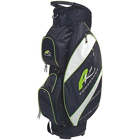 Powakaddy 2016 Lite Golf Cart Bag Black/Silver/Lime Green by Powakaddy
