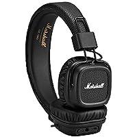 Marshall Major II Bluetooth On-Ear Kopfhörer (30+ h Akku, Mikrofon, faltbares Design) schwarz