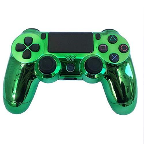 JYOKK Gaming Controller Grüner Spiegel Playstation 4 PS4 Dual Shock 4 Wireless Custom Controller - 738-stick