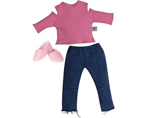 Chad Valley DesignaFriend Sonnenbrillen Out und About Ripper Jeans Outfit Puppe nicht im Lieferumfang enthalten