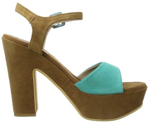 Tosca Blu Shoes OLIVE SS1414S266 Damen Sandalen Grün (VERDINO C43)