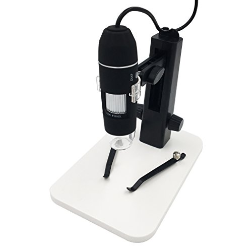 Mikroskop-Kamera, USB-Digital-Mikroskop-Hand 2.0MP 1000X Vergrößerungs-Endoskop, Built-8...