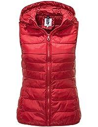 hot sale online 59b9f 4ff85 Suchergebnis auf Amazon.de für: steppweste rot damen: Bekleidung